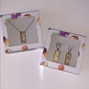 Swarovski Jewelry - NIB Crystal Pendant Swarovski Necklace & Earrings